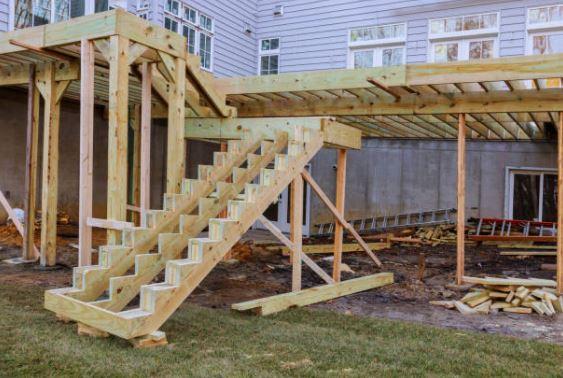 porch construction pe