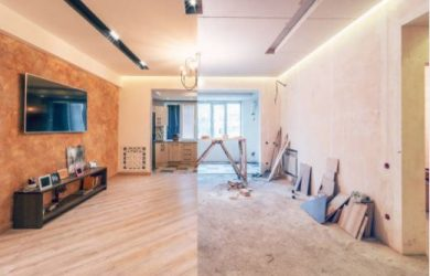 converting 1 bedroom flat into 2