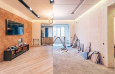 convert a two-bedroom flat into a three port elizabeth